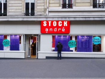 Stock andré paris