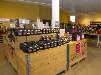 magasin usine Cafés Henri