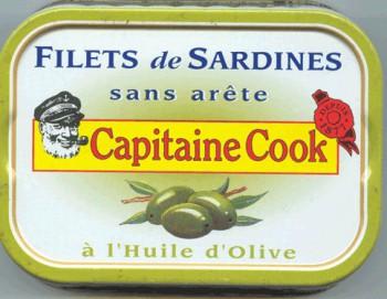 filets de sardine capitaine cook