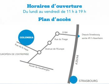 columbia plan magasin usine