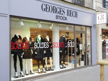 Georges Rech stock paris