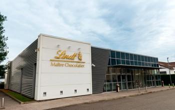 Magasin usine Lindt Oloron Sainte Marie
