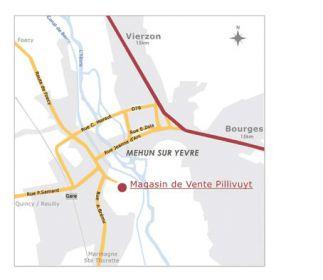 magasin usine Pillivuyt Mehun-sur-Yèvre