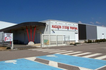 magasin d'usine Tefal rumilly