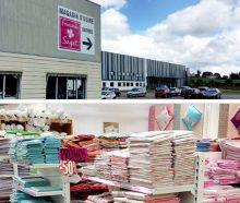 Francoise Saget magasin usine